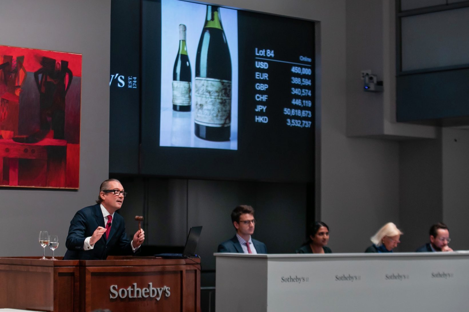 Collecting fine wines, an upward trend since the pandemic