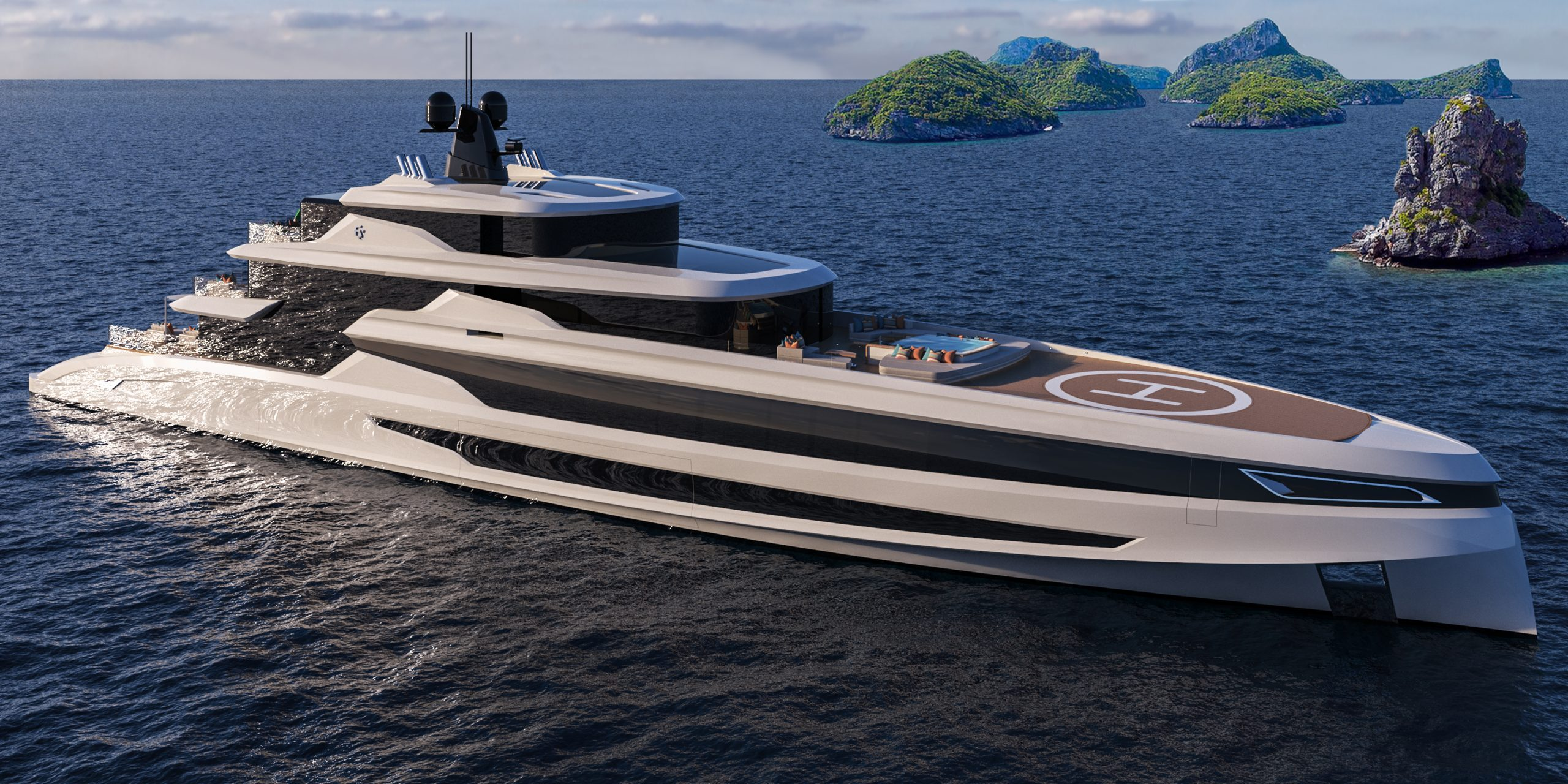 The megayachts return to sea
