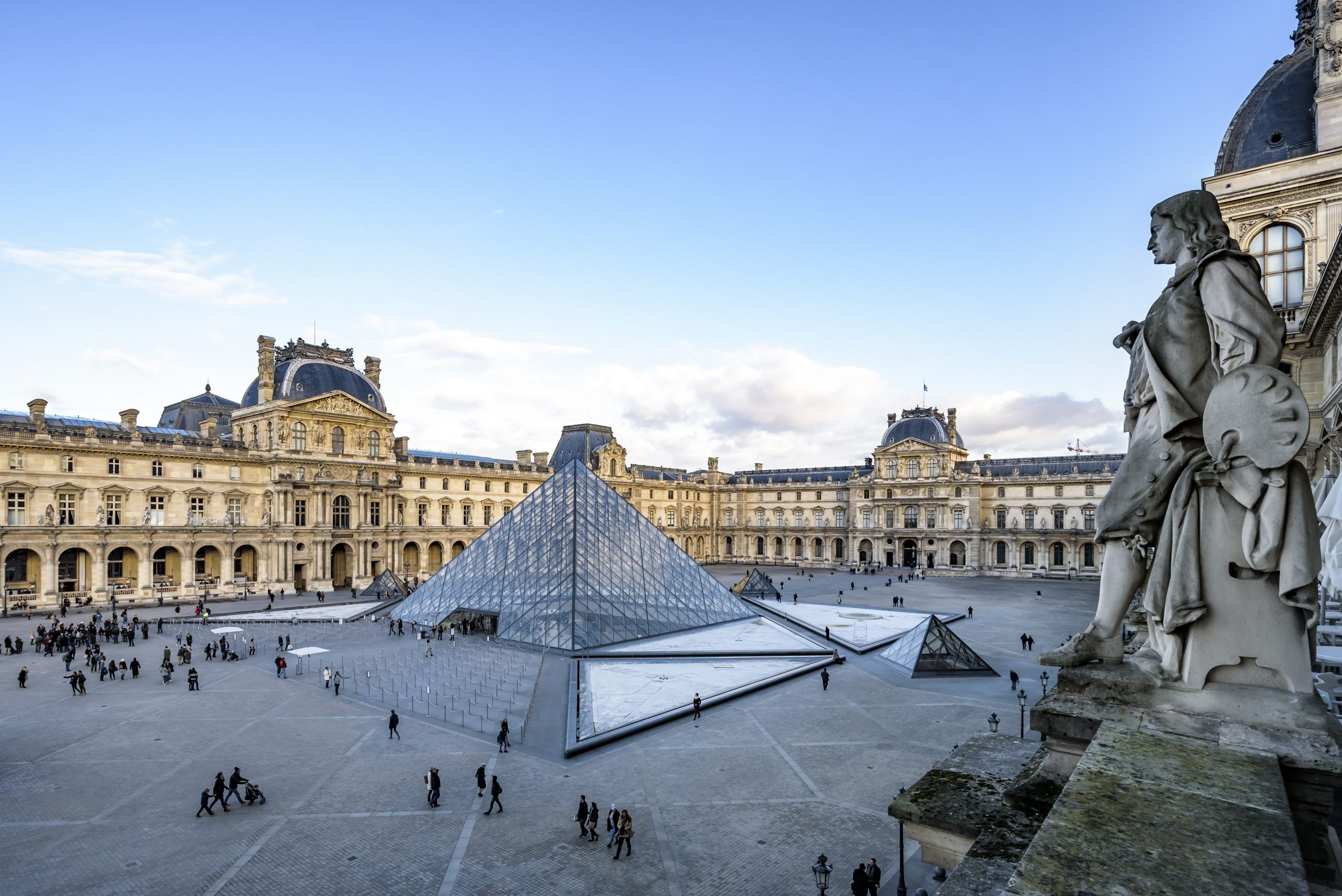The latest luxury? A treat from the Louvre