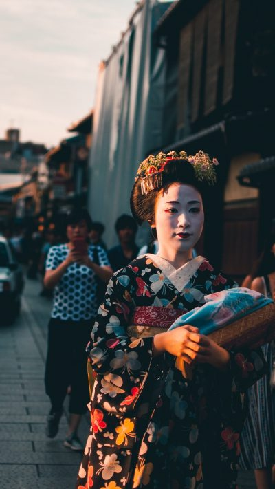 Mysterious geishas