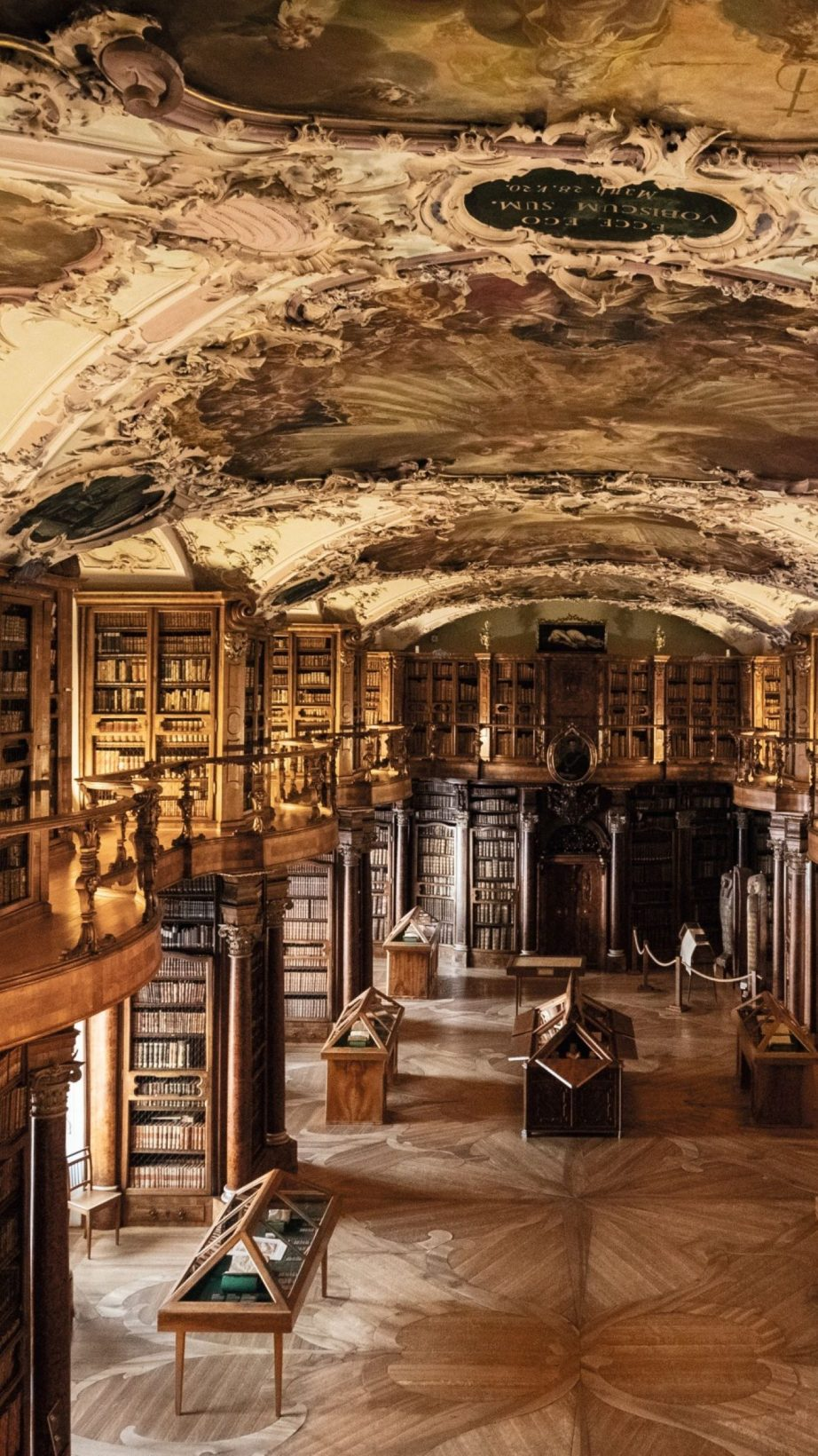 A Swiss library on UNESCO's World Heritage List